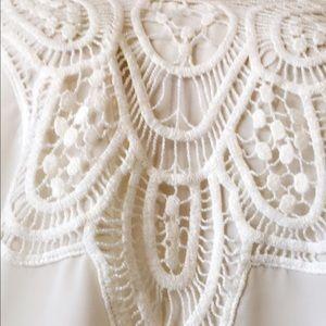 Tops - Beyond Excellent Boutique lace blouse